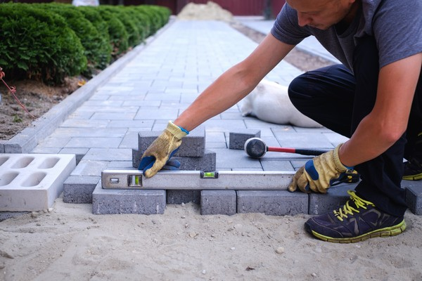 Jacksonville Walkways Pavers Installation